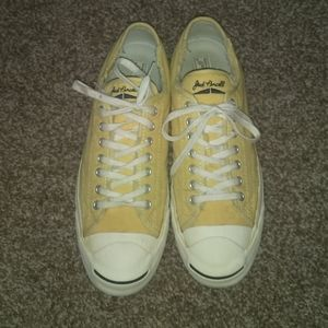 JACK Purcell Converse Canvas Low Top Yellow 11.5